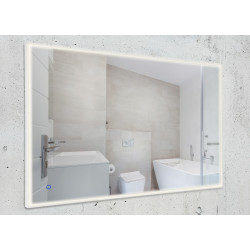 Apšviestas veidrodis 118x74 cm, IP44, DIM - 2 - 462,78€