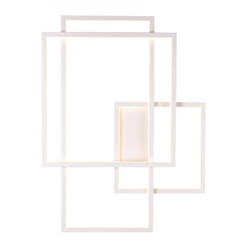 Sieninis šviestuvas LED GEOMETRIC baltas - 1 - 600,68€