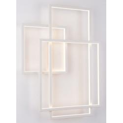 Sieninis šviestuvas LED GEOMETRIC baltas - 2 - 600,68€