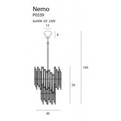 Sietynas NEMO - 3 - 604,40€