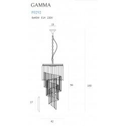 Pakabinamas šviestuvas GAMMA - 2 - 645,79€