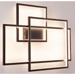 Sieninis šviestuvas LED GEOMETRIC juodas, DIM - 3 - 659,28€