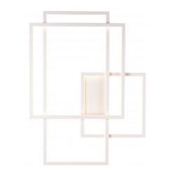 Sieninis šviestuvas LED GEOMETRIC baltas, DIM - 1 - 659,28€