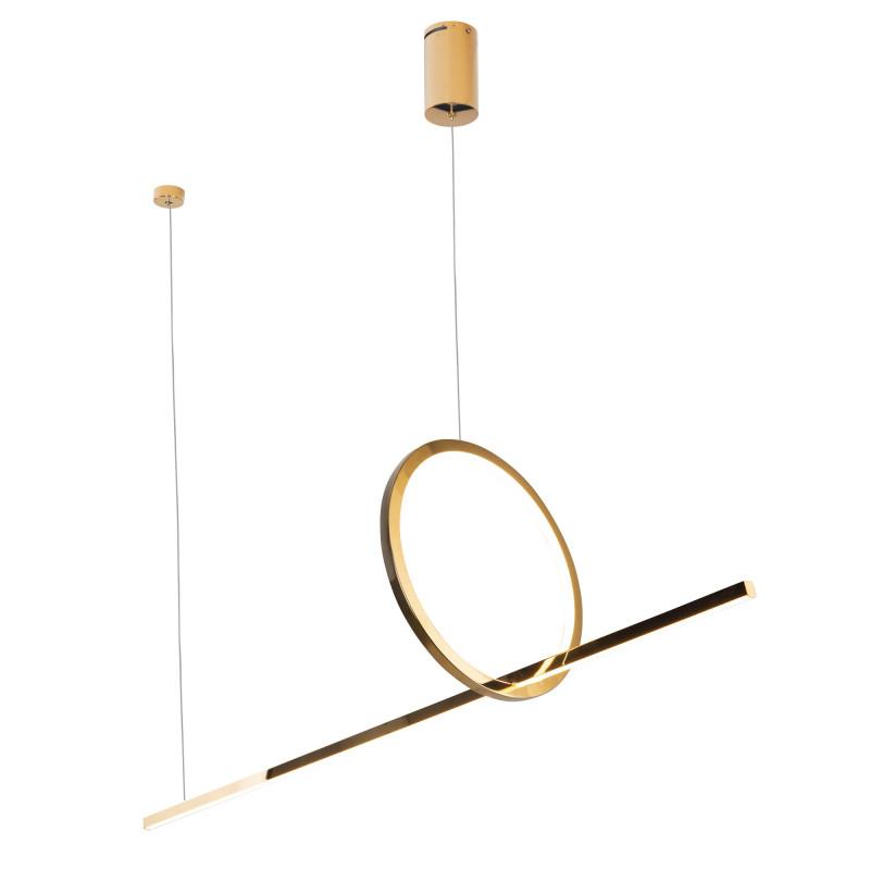 Pakabinamas šviestuvas LOZANNA 18W auksinė - 1 - 688,36€