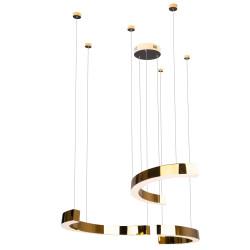Pakabinamas šviestuvas LOTUS 40W auksinis - 1 - 813,93€