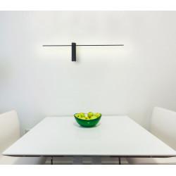 Sieninis šviestuvas SABRE 61 cm juodas IP23 - 3 - 99,99€