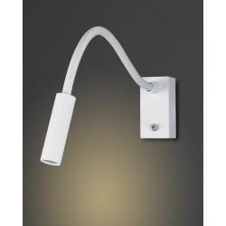 Sieninis šviestuvas RIDER WHITE - 2 - 105,81€