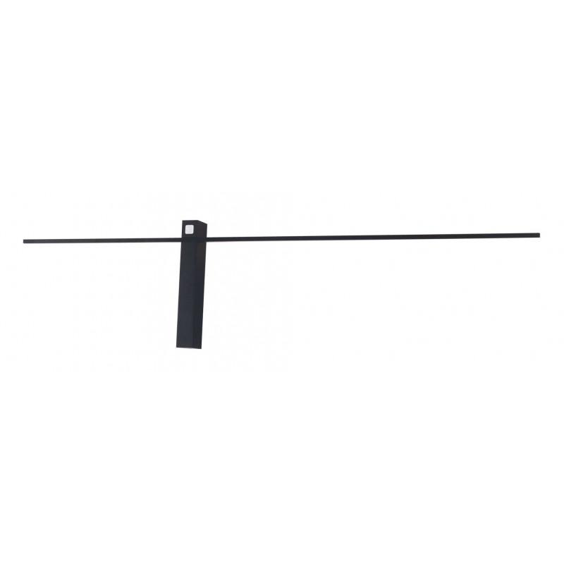 Sieninis šviestuvas SABRE 91 cm juodas - 1 - 111,62€