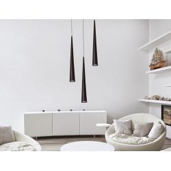 Pakabinamas šviestuvas SLIM juodas 60 - 3 - 115,81€