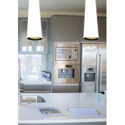 Pakabinamas šviestuvas SLIM baltas 100 - 2 - 130,46€