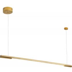Pakabinamas šviestuvas ORGANIC HORIZON 100CM auksinė - 1 - 290,46€