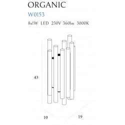 Sieninis šviestuvas ORGANIC COOPER - 3 - 353,94€