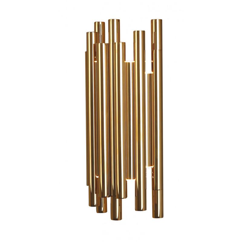Sieninis šviestuvas ORGANIC GOLD - 1 - 353,94€