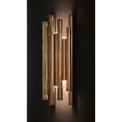 Sieninis šviestuvas ORGANIC GOLD - 4 - 353,94€