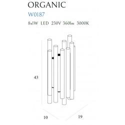 Sieninis šviestuvas ORGANIC GOLD - 5 - 353,94€