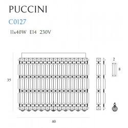 Plafonas PUCCINI 40cm - 4 - 459,52€