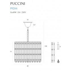 Pakabinamas šviestuvas PUCCINI 40cm - 5 - 459,52€