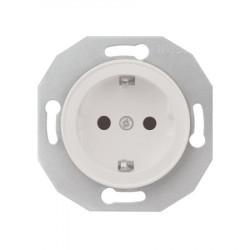 Schneider Electric Renova serijos elektros kištukinis lizdas baltas