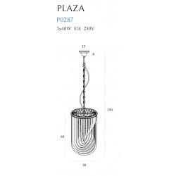 Pakabinamas šviestuvas PLAZA ∅ 38 cm - 4 - 525,56€