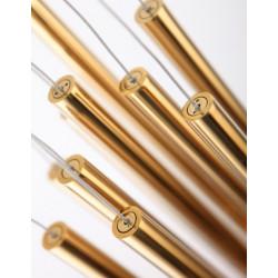Pakabinamas šviestuvas ORGANIC 10x auksinis mažas, DIM - 3 - 660,67€