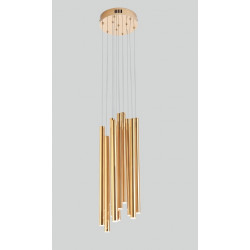 Pakabinamas šviestuvas ORGANIC 10x auksinis mažas, DIM - 4 - 660,67€