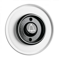 THPG bakelito mygtukas skambučiui su stikliniu rėmeliu