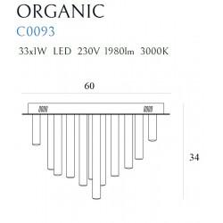 Plafonas ORGANIC 33x1 COPPER - 3 - 1009,04€