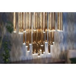 Pakabinamas šviestuvas ORGANIC 33x1 auksinė - 3 - 1416,23€