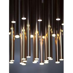 Pakabinamas šviestuvas ORGANIC 33x1 auksinė - 4 - 1416,23€