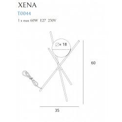 Stalinė lempa XENA - 2 - 72,55€