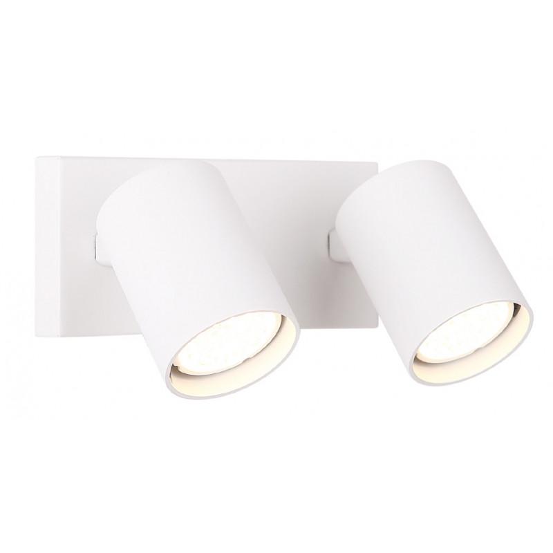 Sieninis šviestuvas TOP2 baltas - 1 - 50,00€
