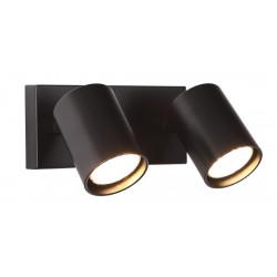 Sieninis šviestuvas TOP2 juodas - 1 - 50,00€