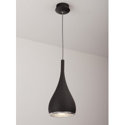 Pakabinamas šviestuvas VIGO I juodas - 3 - 83,95€