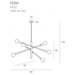 Pakabinamas šviestuvas TODI VI - 5 - 103,48€