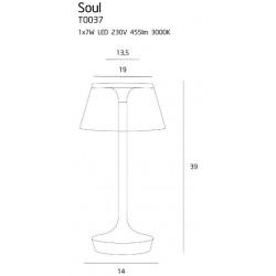 Stalinė lempa SOUL CLEAR - 2 - 114,42€