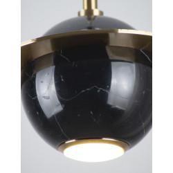 Pakabinamas šviestuvas URANOS juodas - 2 - 174,65€