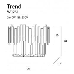 Sieninis šviestuvas TREND - 5 - 241,38€