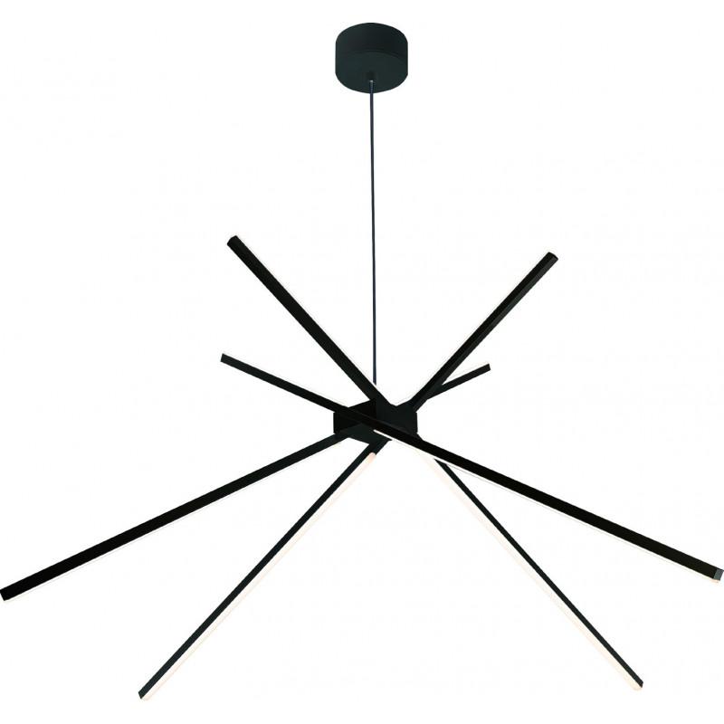Pakabinamas šviestuvas SPIDER BLACK - 1 - 363,71€