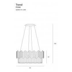 Pakabinamas šviestuvas TREND 45cm - 6 - 606,49€