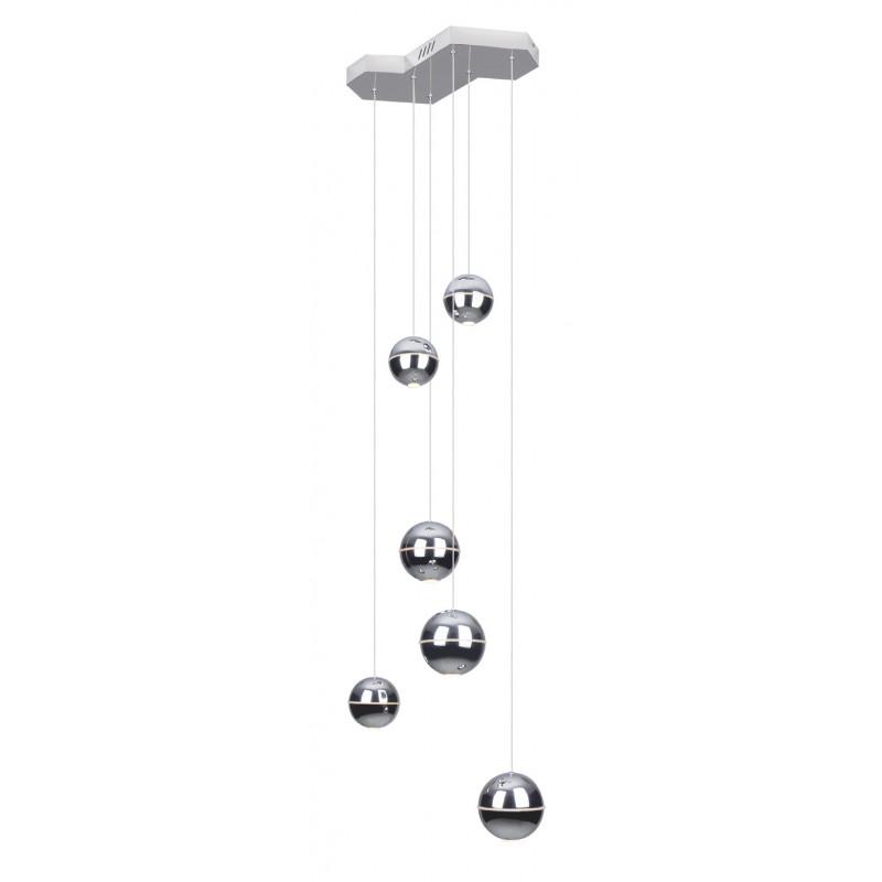 Pakabinamas šviestuvas ZEN 6 CHROM - 1 - 891,14€