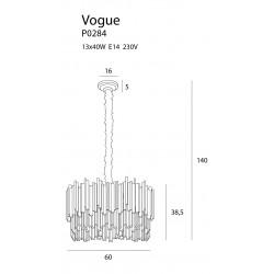 Pakabinamas šviestuvas VOGUE - 3 - 1471,58€