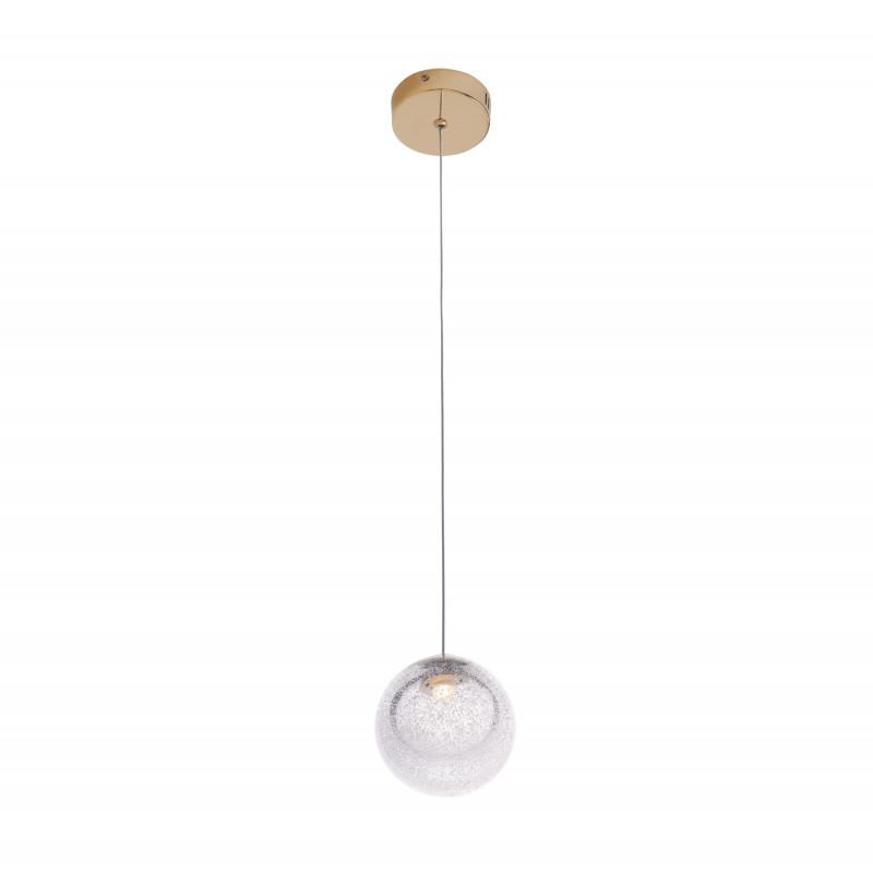 Pakabinamas šviestuvas ZOE 1x1,5W auksinis - 1 - 122,79€