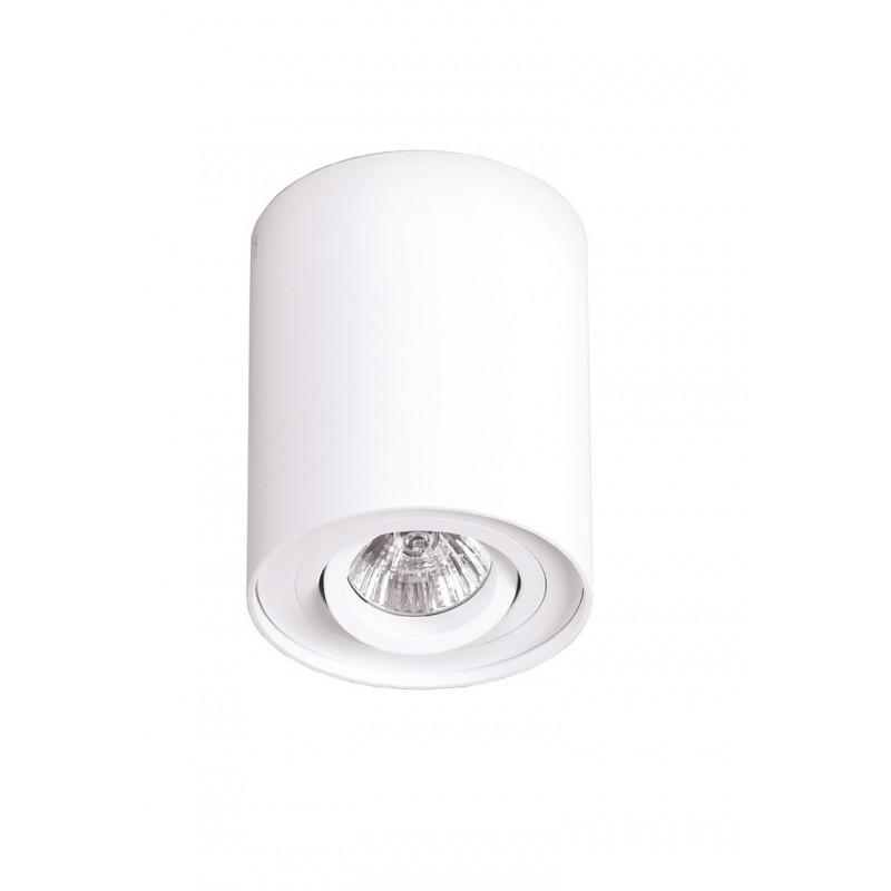 Lubinis šviestuvas BASIC ROUND baltas - 1 - 21,62€