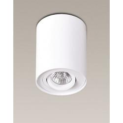 Lubinis šviestuvas BASIC ROUND baltas - 2 - 21,62€
