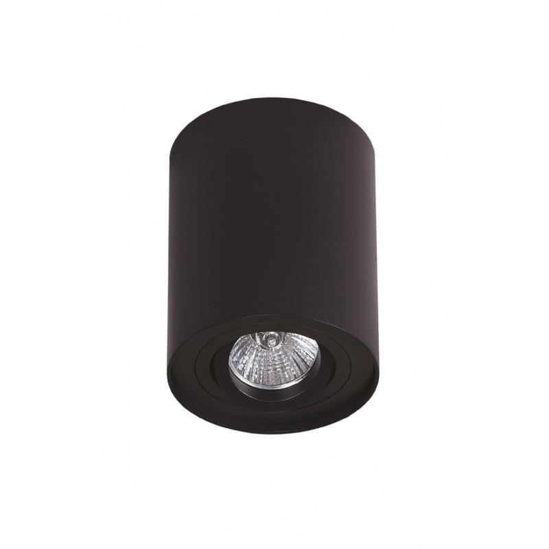 Lubinis šviestuvas BASIC ROUND juodas - 1 - 21,62€