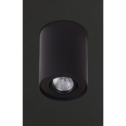 Lubinis šviestuvas BASIC ROUND juodas - 2 - 21,62€