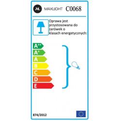 Lubinis šviestuvas BASIC ROUND juodas - 5 - 21,62€