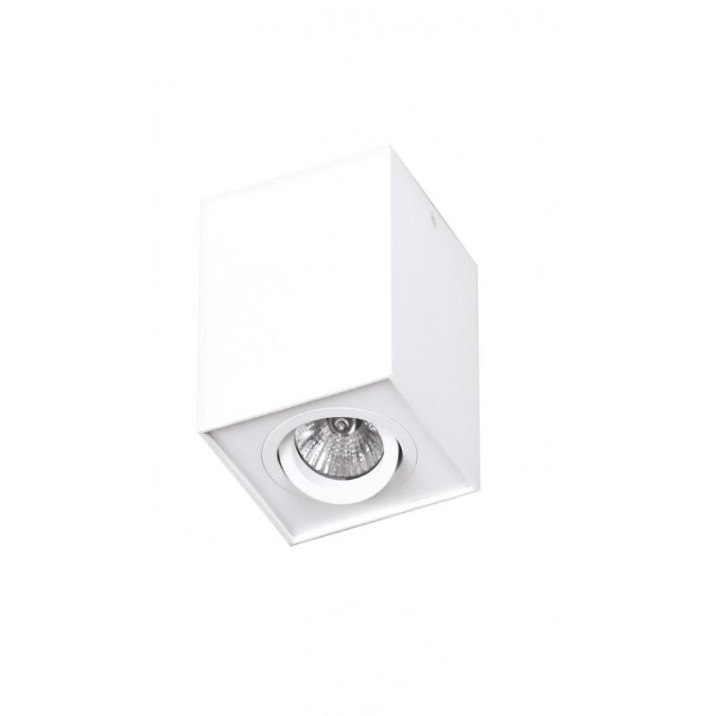 Lubinis šviestuvas BASIC SQUARE baltas - 1 - 28,14€
