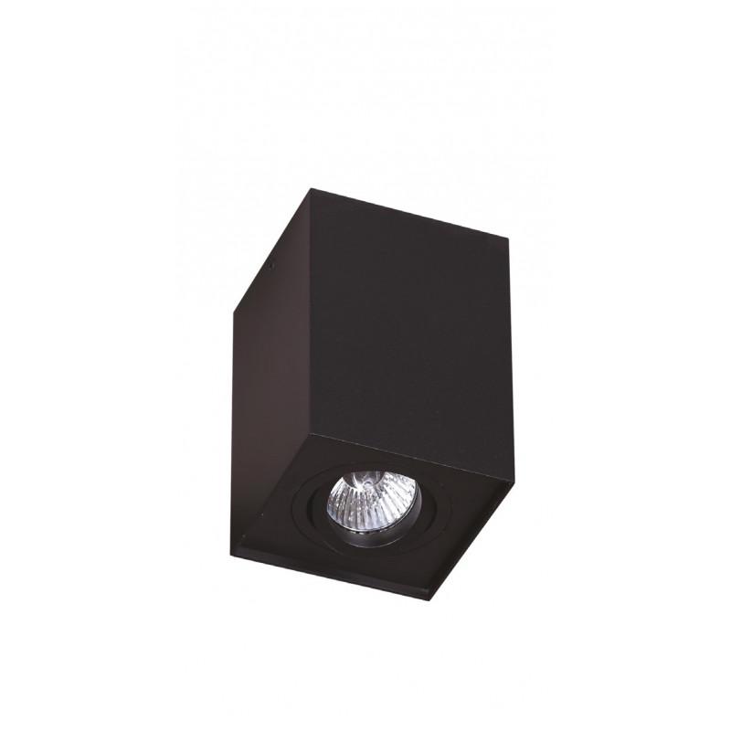 Lubinis šviestuvas BASIC SQUARE BLACK - 1 - 28,14€