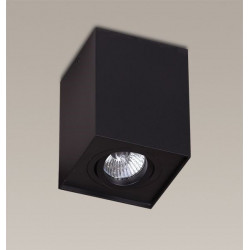 Lubinis šviestuvas BASIC SQUARE BLACK - 2 - 28,14€
